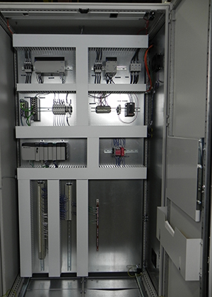 PLC Control System for Converting Equipment